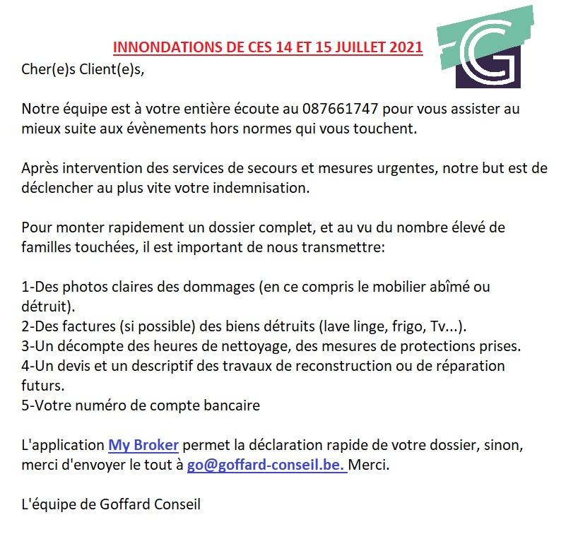 L'agence Goffard Charlier : votre courtier indépendant à Herve